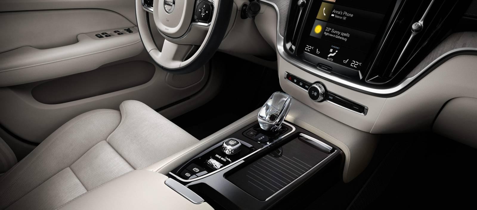 Interiér Nové Volvo S60